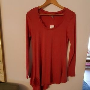 Andrew Charles NWT Assumetrical Blouse - S